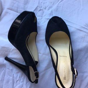 Open toed BRUNOMAGLI heels